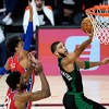 3 observations: Jayson Tatum, Celtics run past Sixers in Game 1
