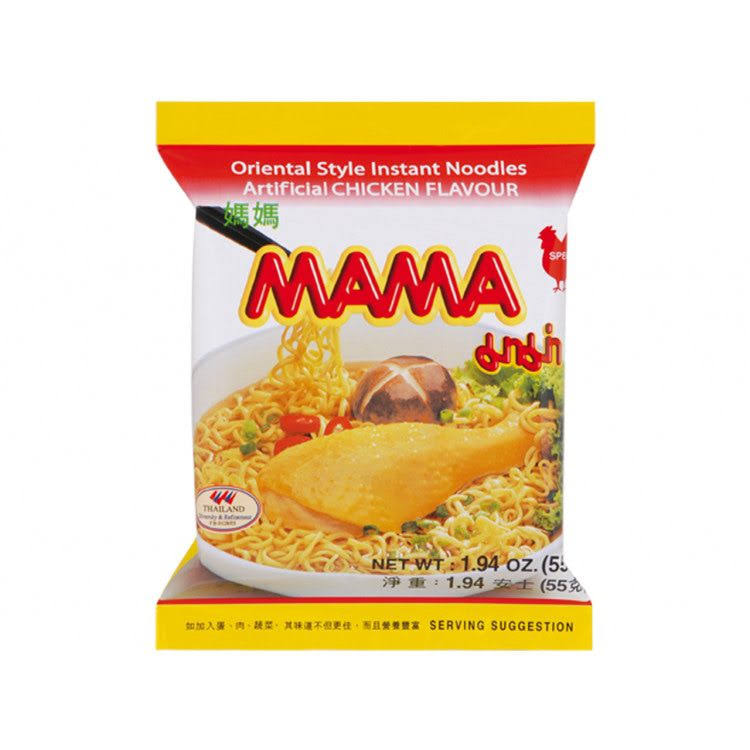 Mama Instant Noodles - Chicken, 55g