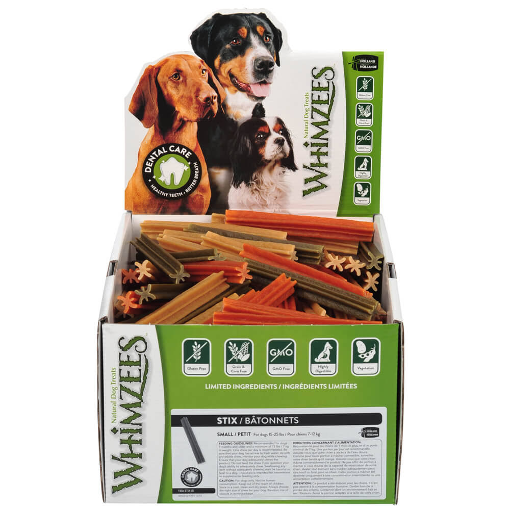 Whimzees Stix Individual Dog Chews Small