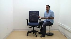 Lorell Executive High Back Chair Mesh Fabric by Allseating Inertia High Back Mesh Task Chair Youtube