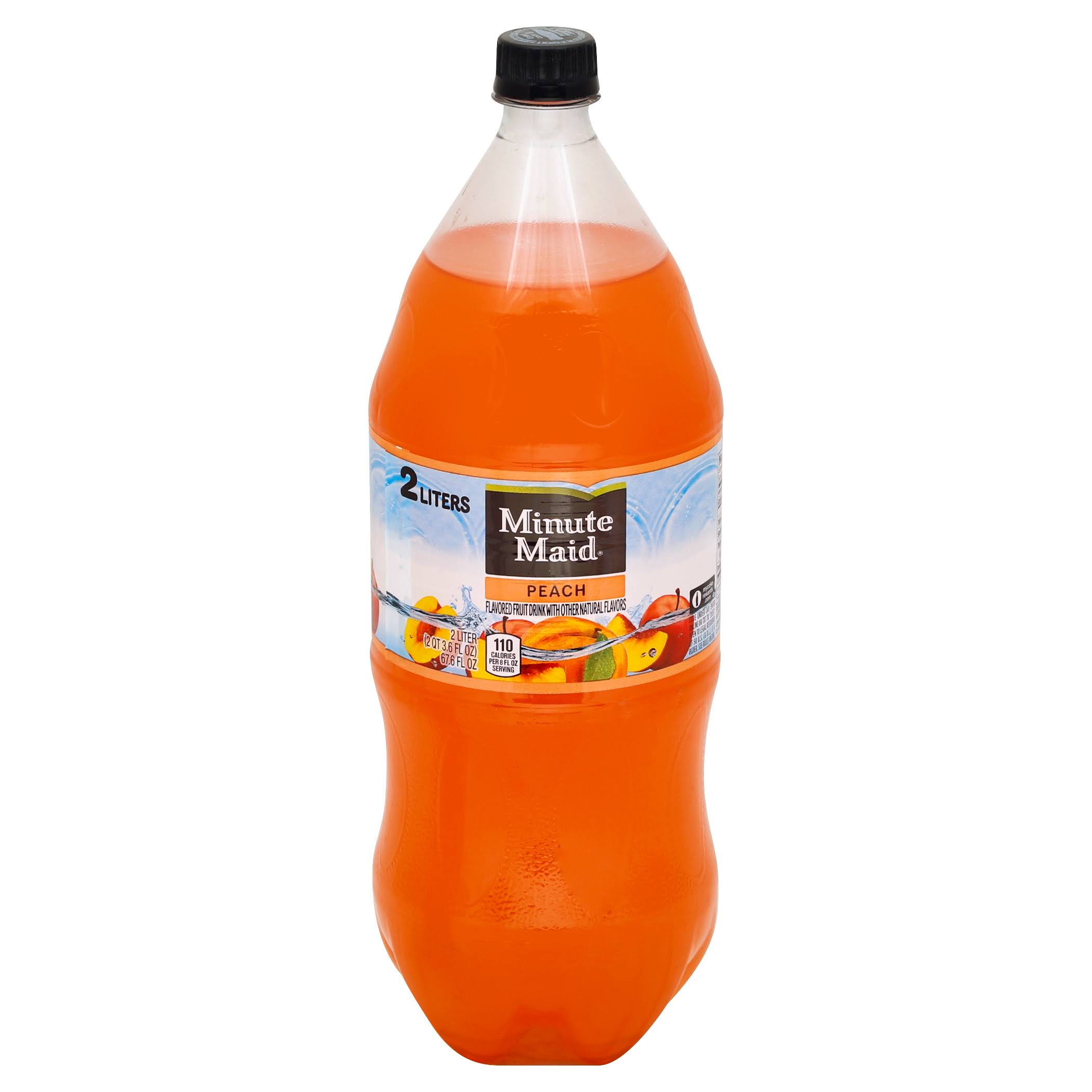 Minute Maid Fruit Drink - 2l, Peach
