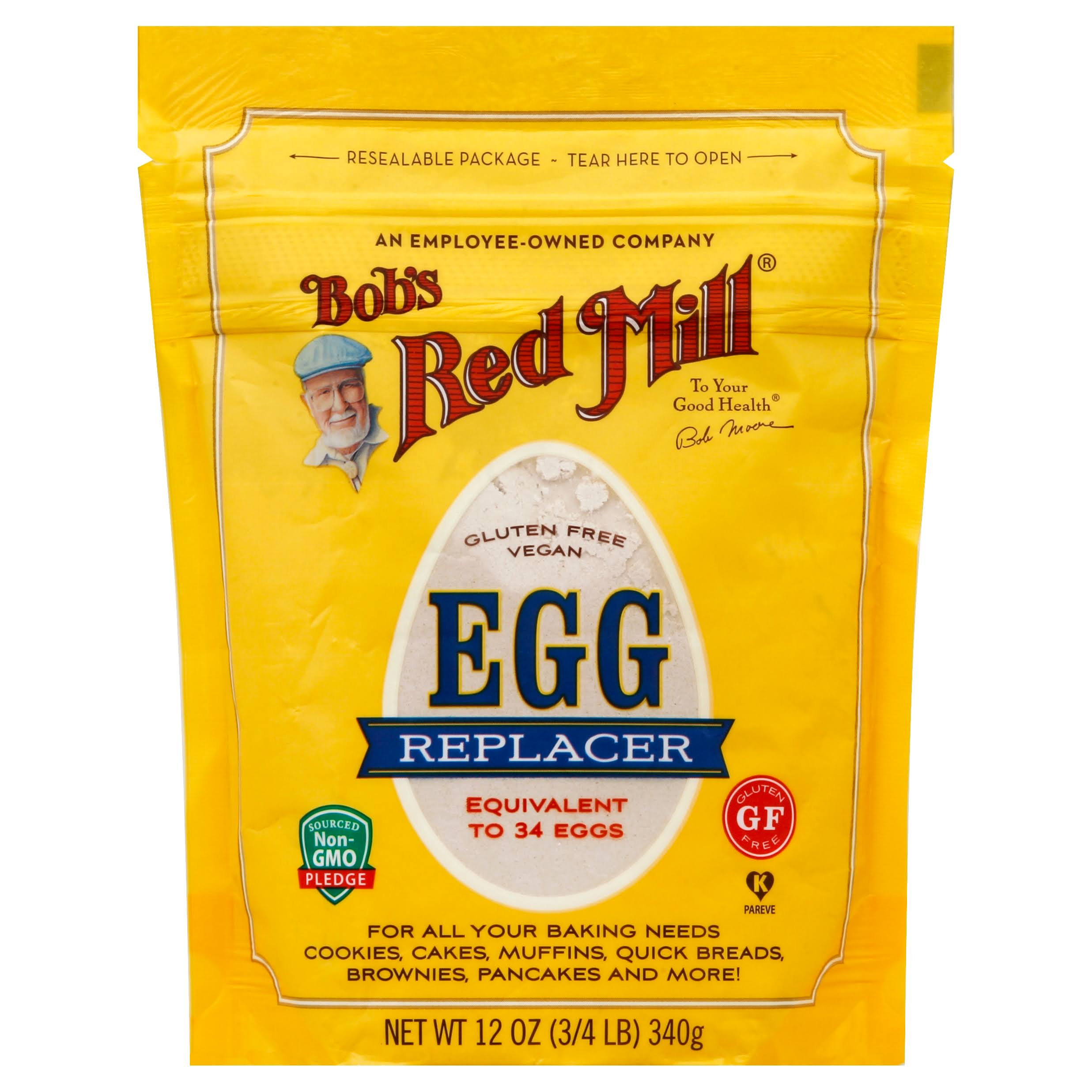 Bob's Red Mill Egg Replacer - Gluten Free, 12oz