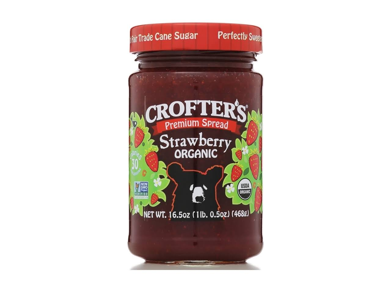 Crofter's Premium Spread - Strawberry, 468g