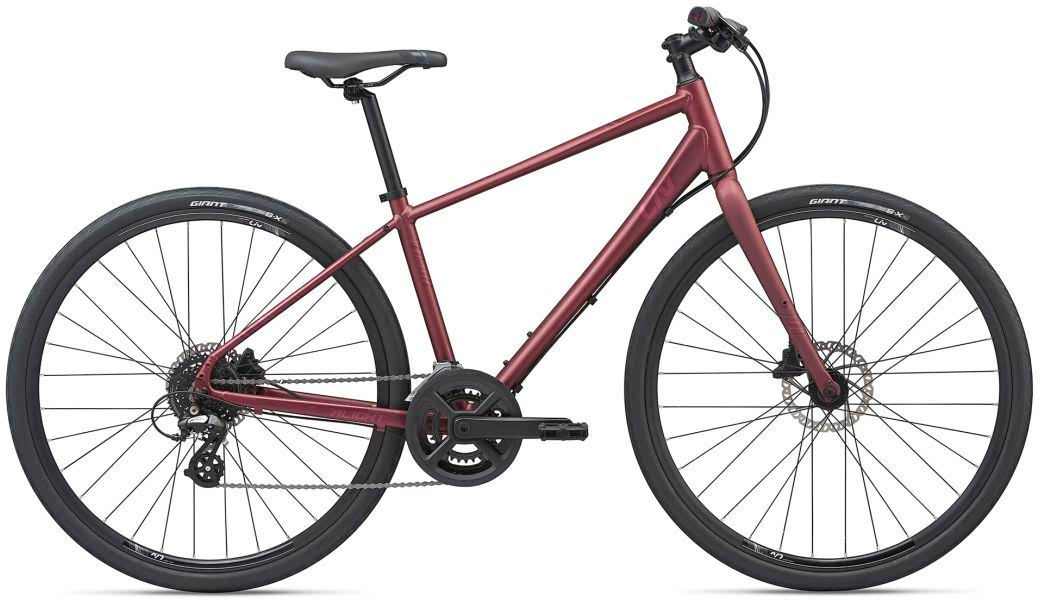 Liv Alight 2 Disc 2020 Hybrid Bike Very Berry
