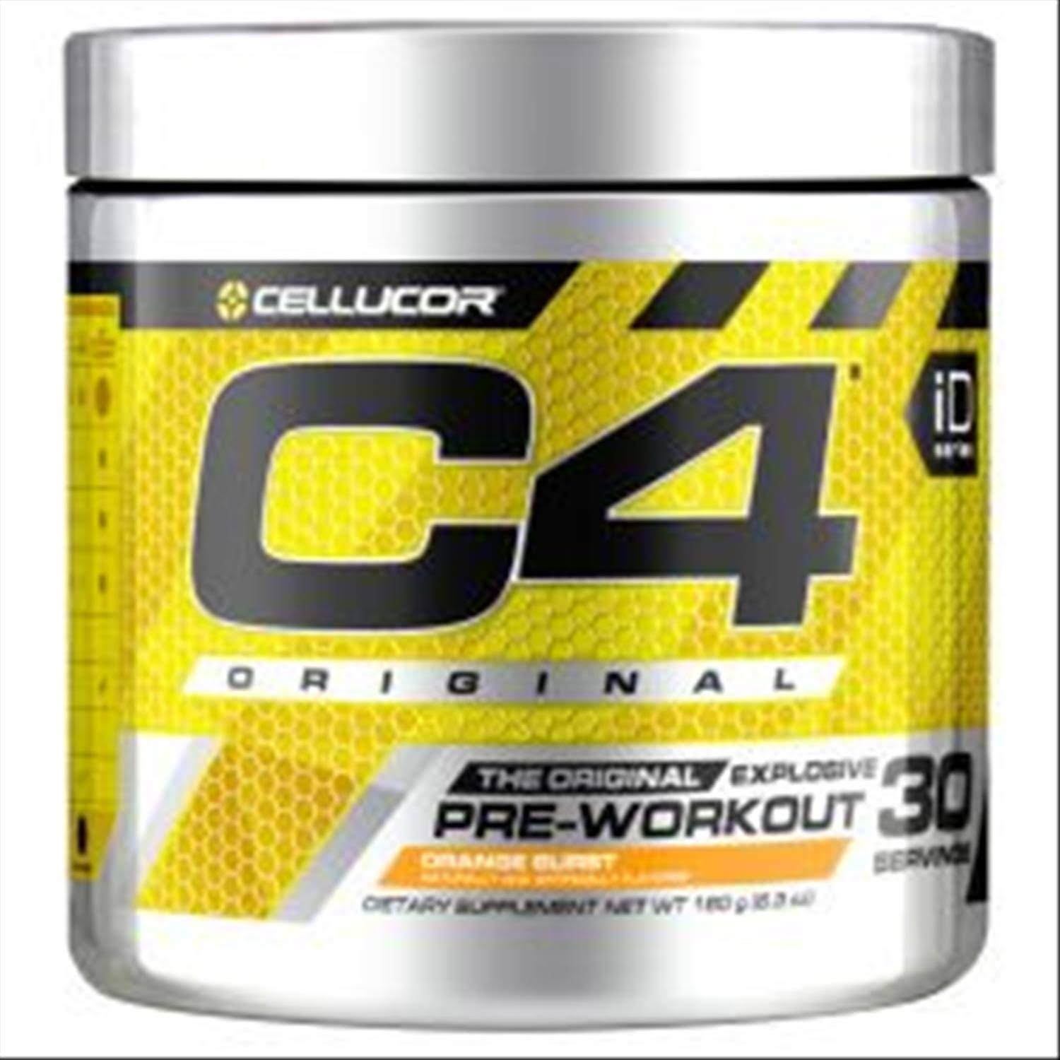 Cellucor C4 Original Explosive Pre-Workout Supplement - Cherry Limeade, 6.3oz, 30 Servings