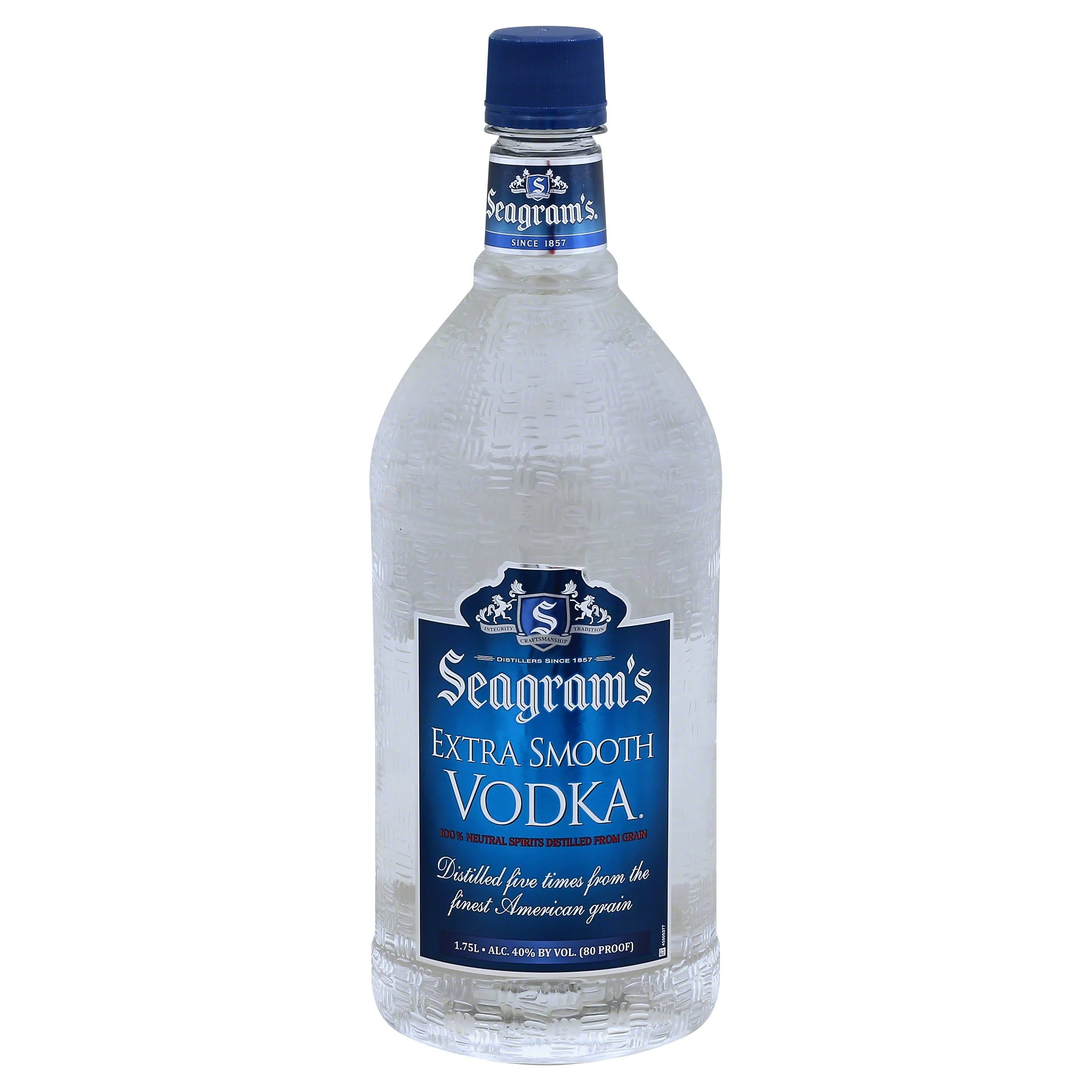 Seagrams Extra Smooth Vodka - 1.75L