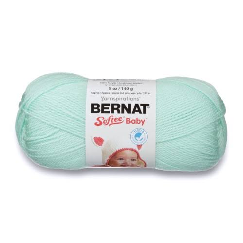 Spinrite Bernat Softee Baby Yarn #3 - Mint, 362yds
