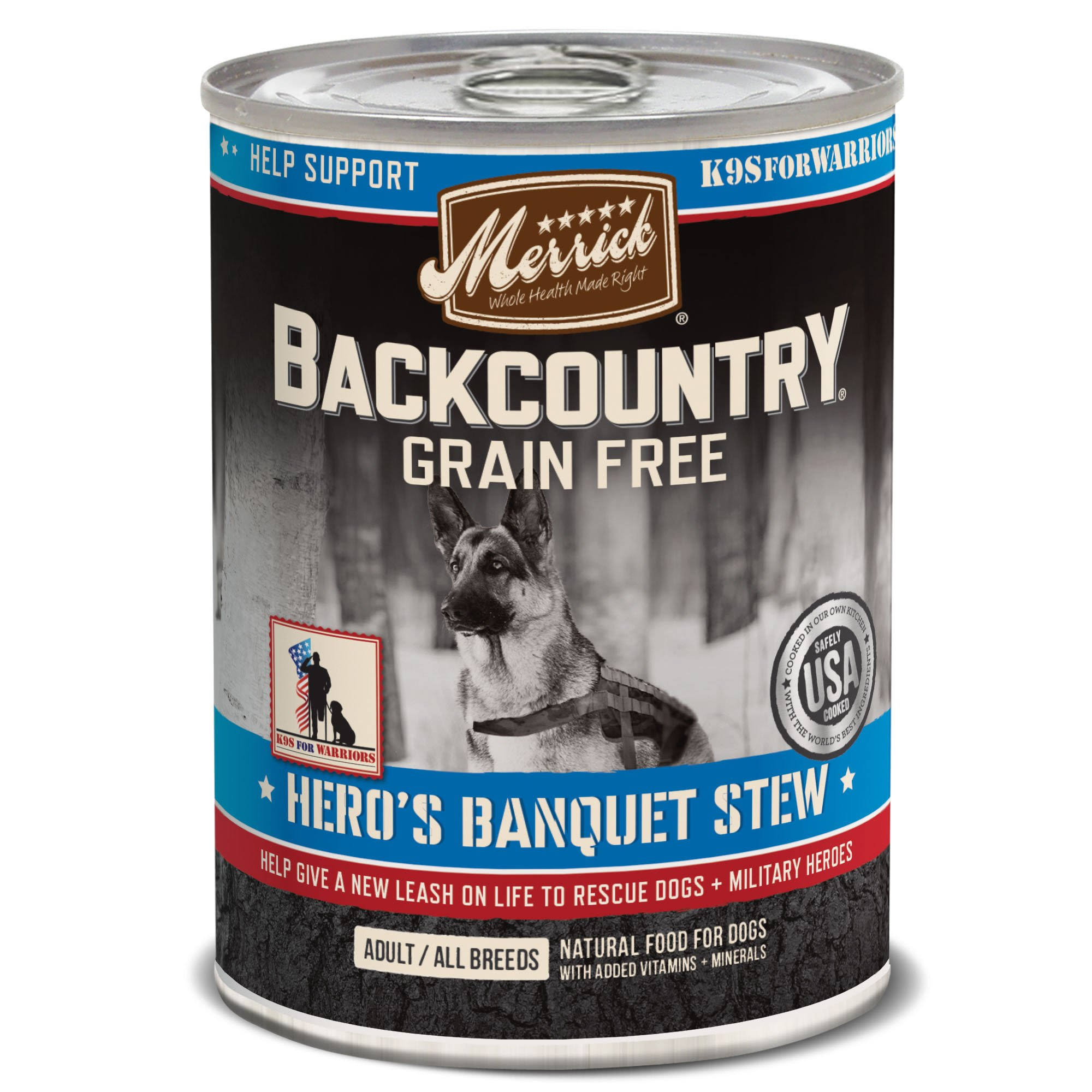 Merrick Backcountry Hero's Banquet Canned Dog Food