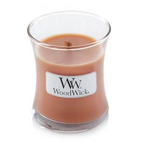 WoodWick Pumpkin Pecan Mini Hourglass Scented Jar Candle