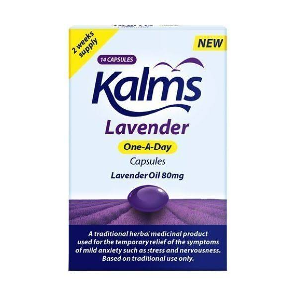 Kalms Lavender One-A-Day Capsules - 14 Caps