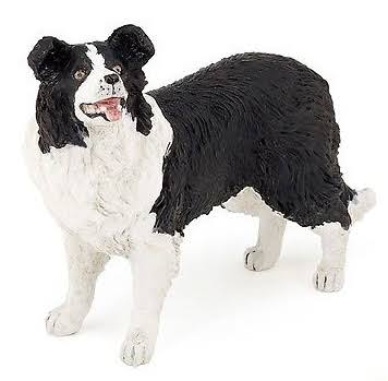 Papo Farm Dog Figure - Border Collie, 3+ Year, 9cm