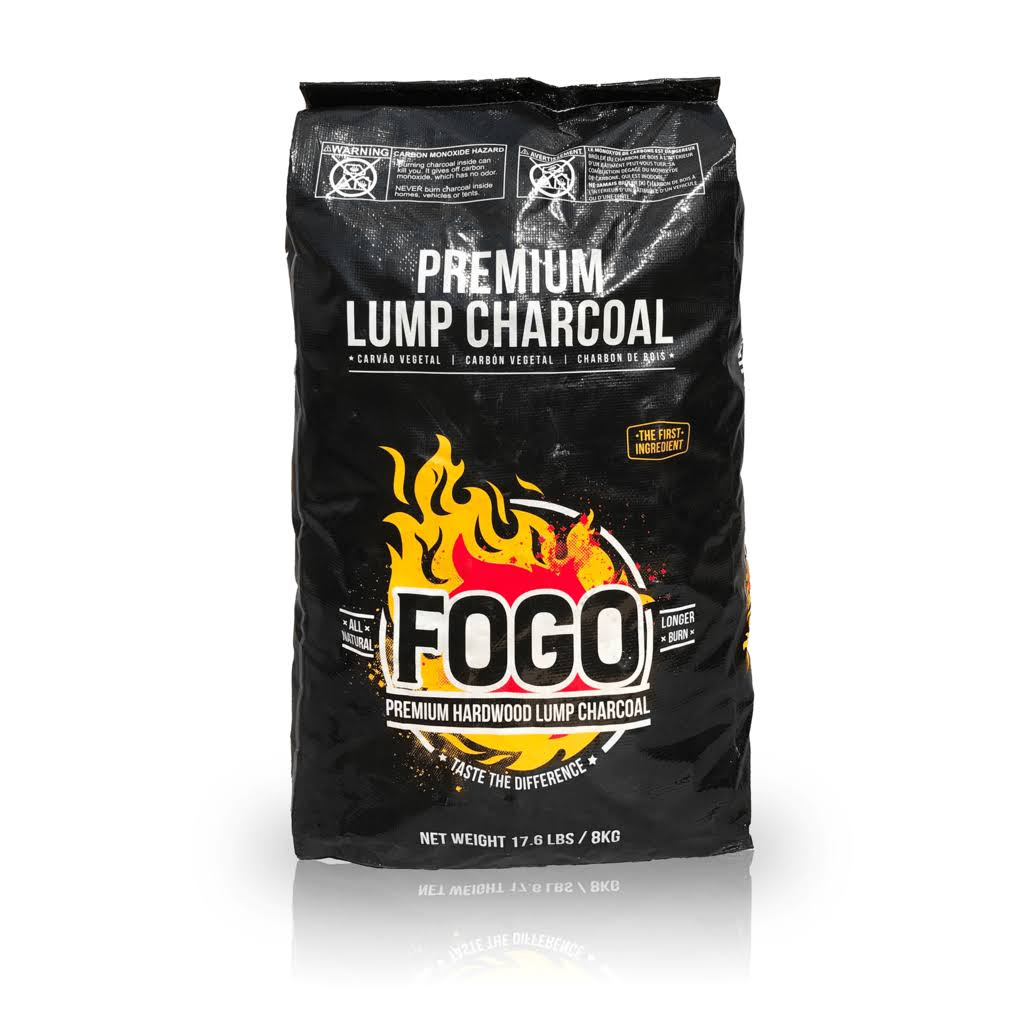 Fogo Premium Hardwood Lump Charcoal 17.6-pound Bag