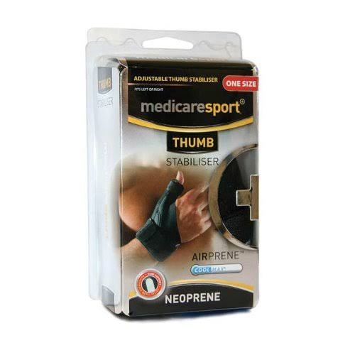 Medicare Sport Neoprene Thumb Stabiliser - One Size Fits All