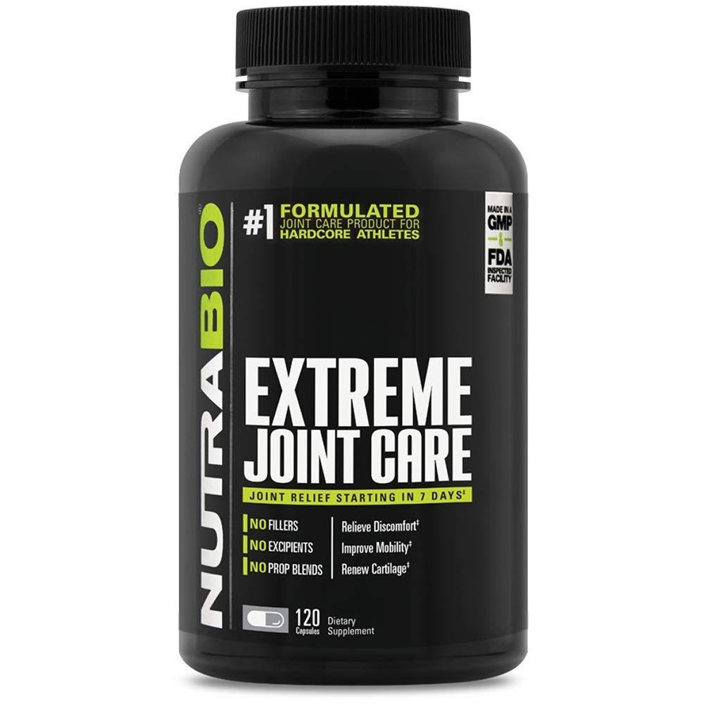 Nutrabio Extreme Joint Care Supplement - 120 Capsules