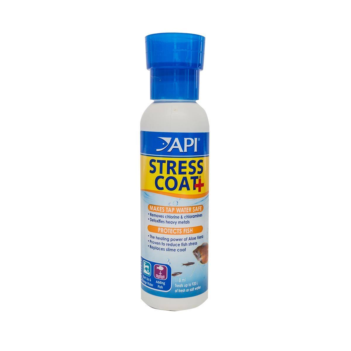 Stress Coat Fish & Water Conditioner - 4oz, 118ml