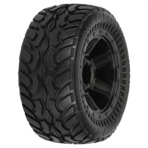 Pro Line Racing Dirt Hawg I Off Road Tires Mntd - 1/16 scale