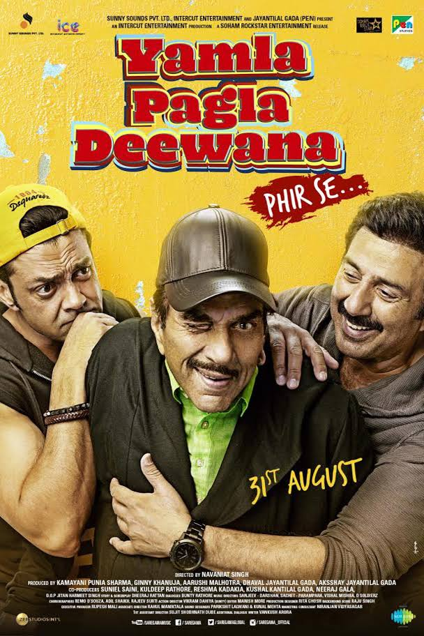 Yamla Pagla Deewana Phir Se (2018) Hindi 720P HDTVRip x264 AAC-1.2 GB
