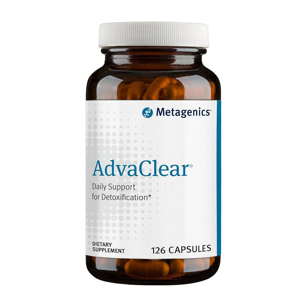 Metagenics AdvaClear Supplement - 126 Capsules