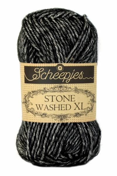 Scheepjes Stone Washed XL Yarn Mix - Black Onyx