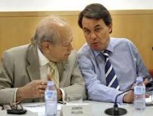 Artur Mas con Jordi Pujol (CDC)