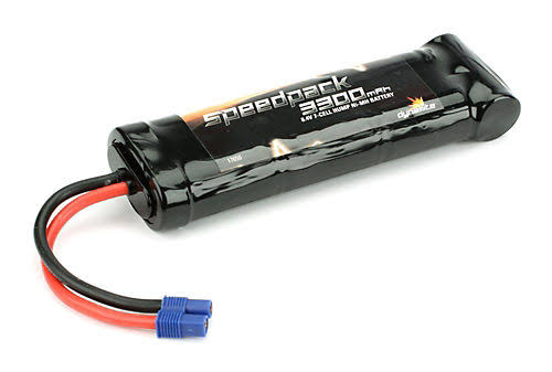 Speedpack 3300mAh Ni-MH 7-Cell Flat with EC3 Conn