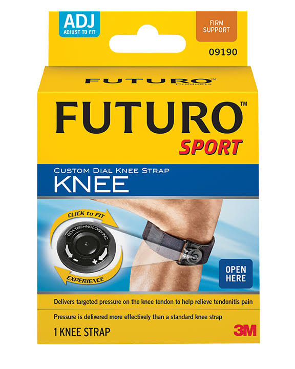 Futuro Sport Adjustable Knee Strap - Black