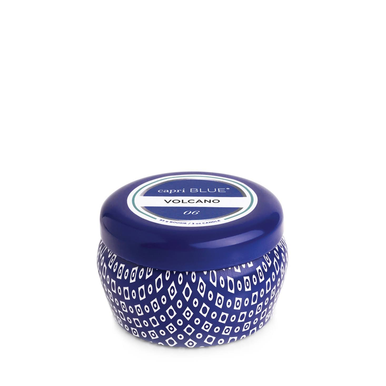 Capri Blue | Volcano Blue Mini Tin, 3 oz