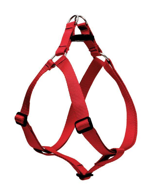 "Lupine Step In Dog Harness - Red, 3/4"" x 20-30"""