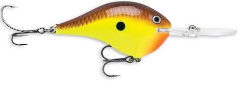 Rapala Dives-To 10 Chartreuse Brown