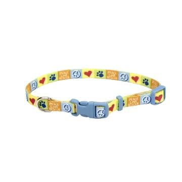 "Coastal Pet Attire Styles Adjustable Nylon Collar - Rescue, 3/8"", 8"" To 12"" Neck"