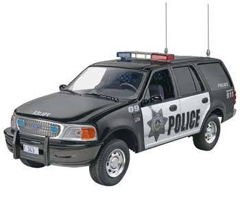Revell SnapTite Ford Expedition Police SSV Plastic Model Kit