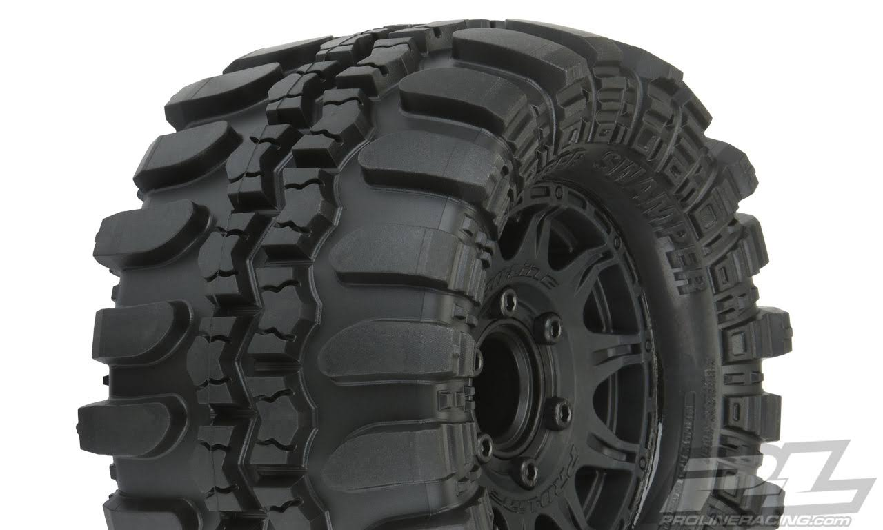 Pro-line Racing 10110-10 Interco TSL SX Super Swamper Set - 2.8 Mounted Raid Tires, 6x30 F/R