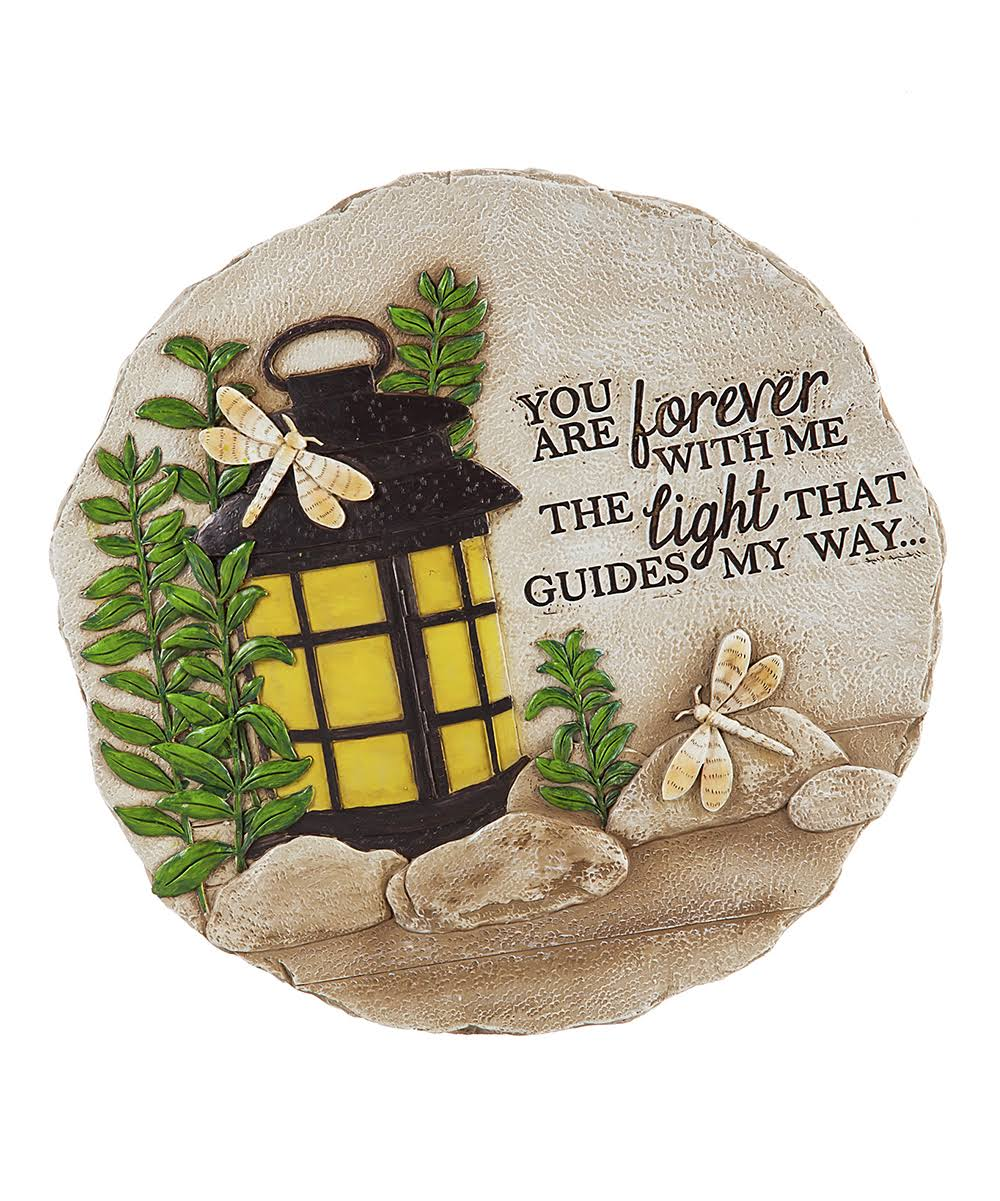 New Creative Stepping Stone 'You Are Forever with Me' Garden Stone One-Size
