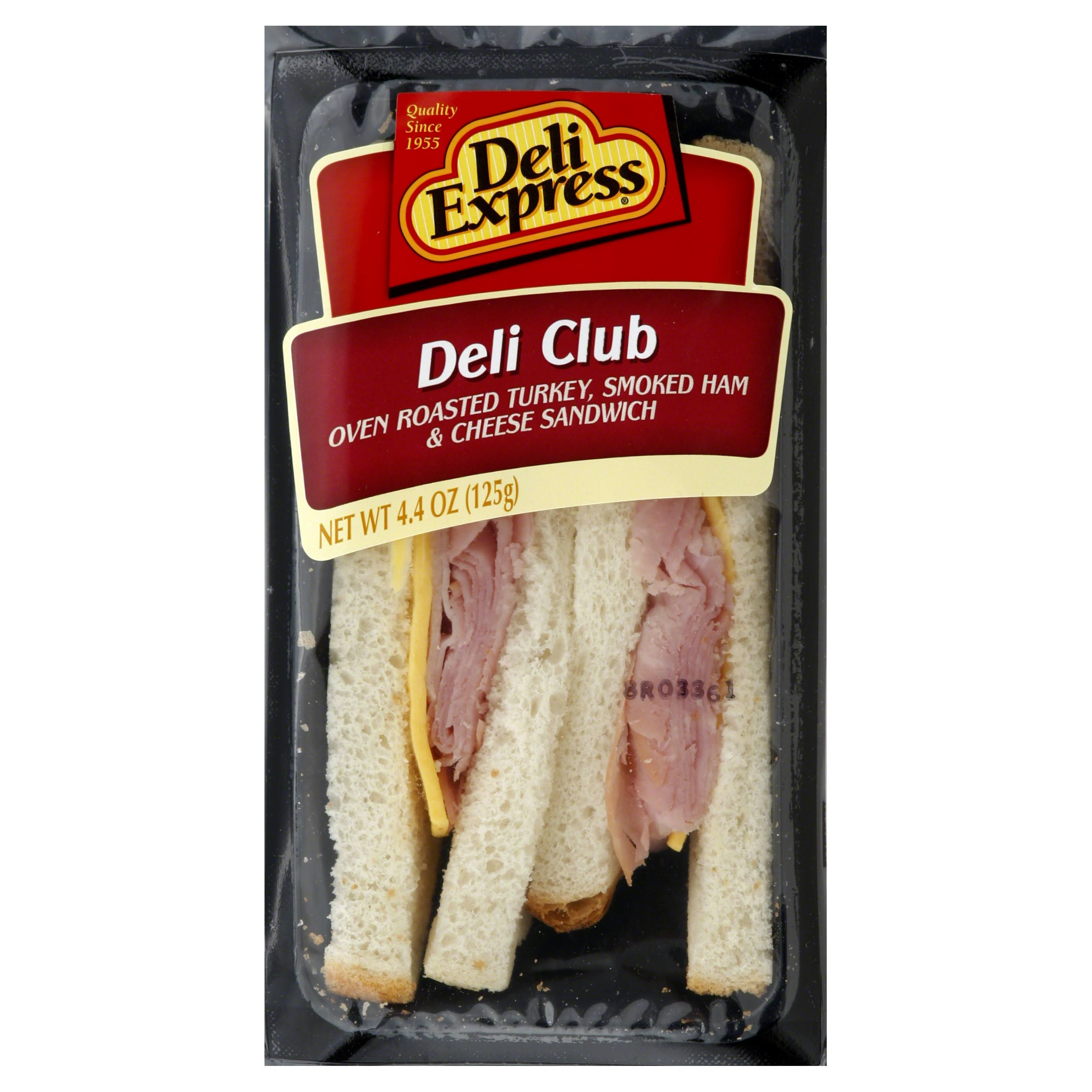 Deli Express Sandwich, Deli Club - 4.4 oz
