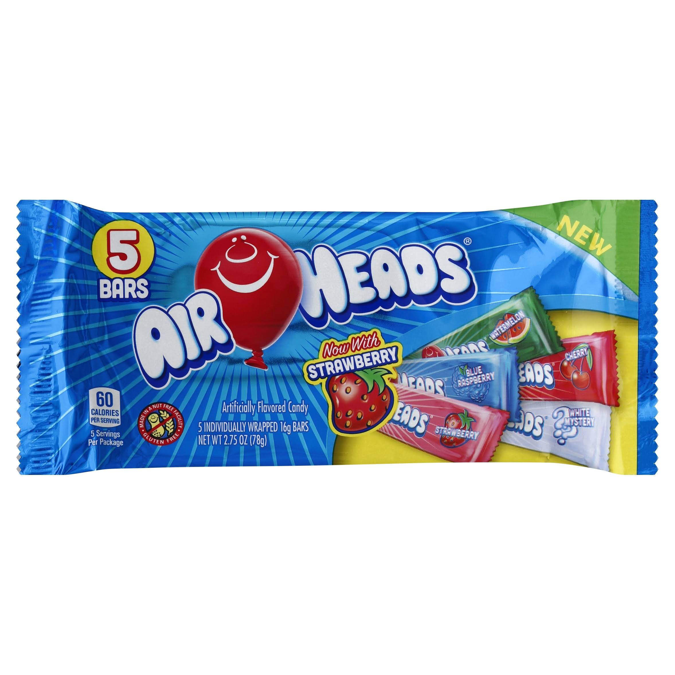 Airheads Candy - 5 pack, 16 g bars