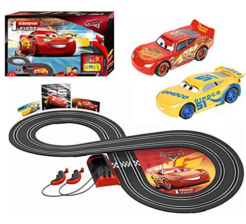 Carrera First Disney Pixar Race Track Cars 3 Vehicle Toy
