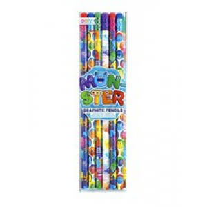 Monster Graphite Pencils - Set of 12