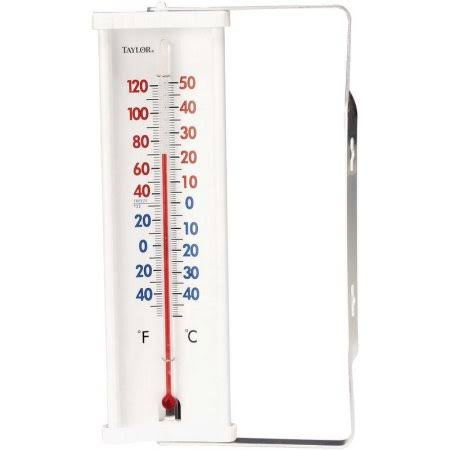 Taylor Precision Products Taylor Window Thermometer - 8""