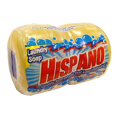 Hispano Laundry Soap - 2 Bar Round, 5.64oz /160 Gr, 6pk