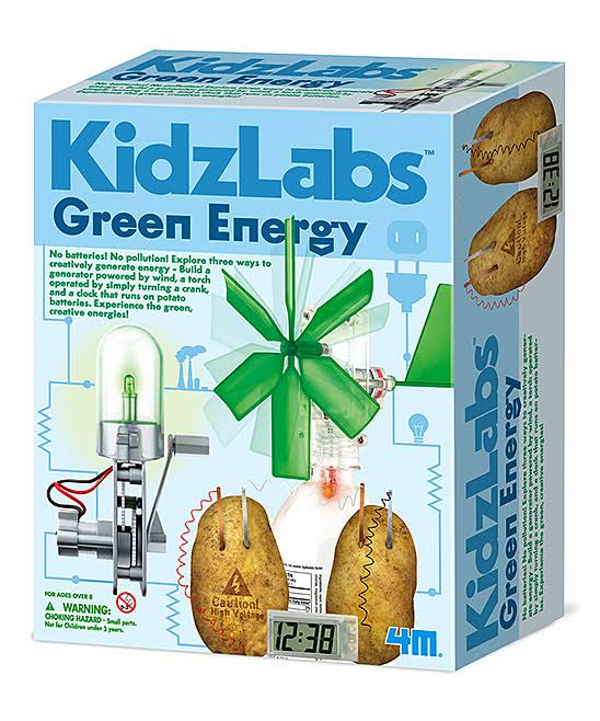4M Kidzlabs Green Energy Science Project Kit
