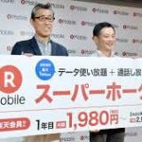 楽天, Rakuten.com Shopping, 楽天モバイル, 通信