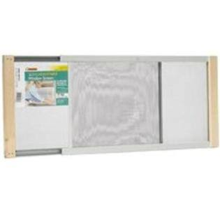 Thermwell Products Adjustable Window Screen - 37in x 18in