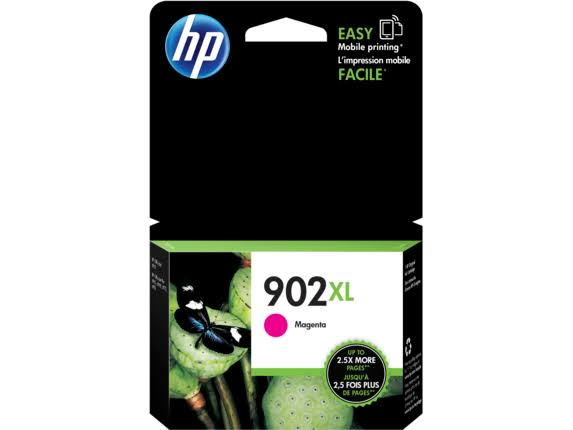 HP High Yield Original Ink Cartridge - 902XL Magenta