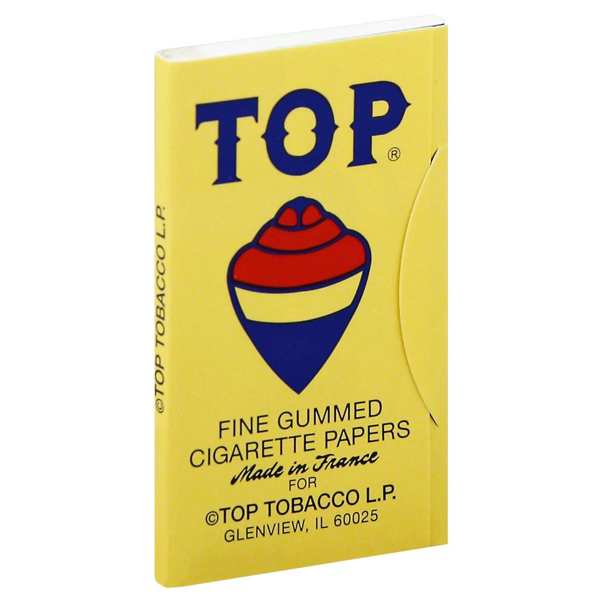 Top Cigarette Papers, Fine Gummed - 100 papers