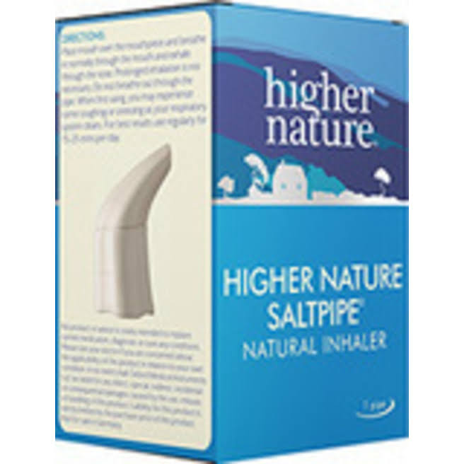 Higher Nature The Saltpipe Inhaler
