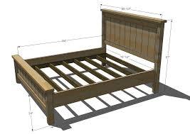 80 diy king size platform bed frame my diy projects pinterest