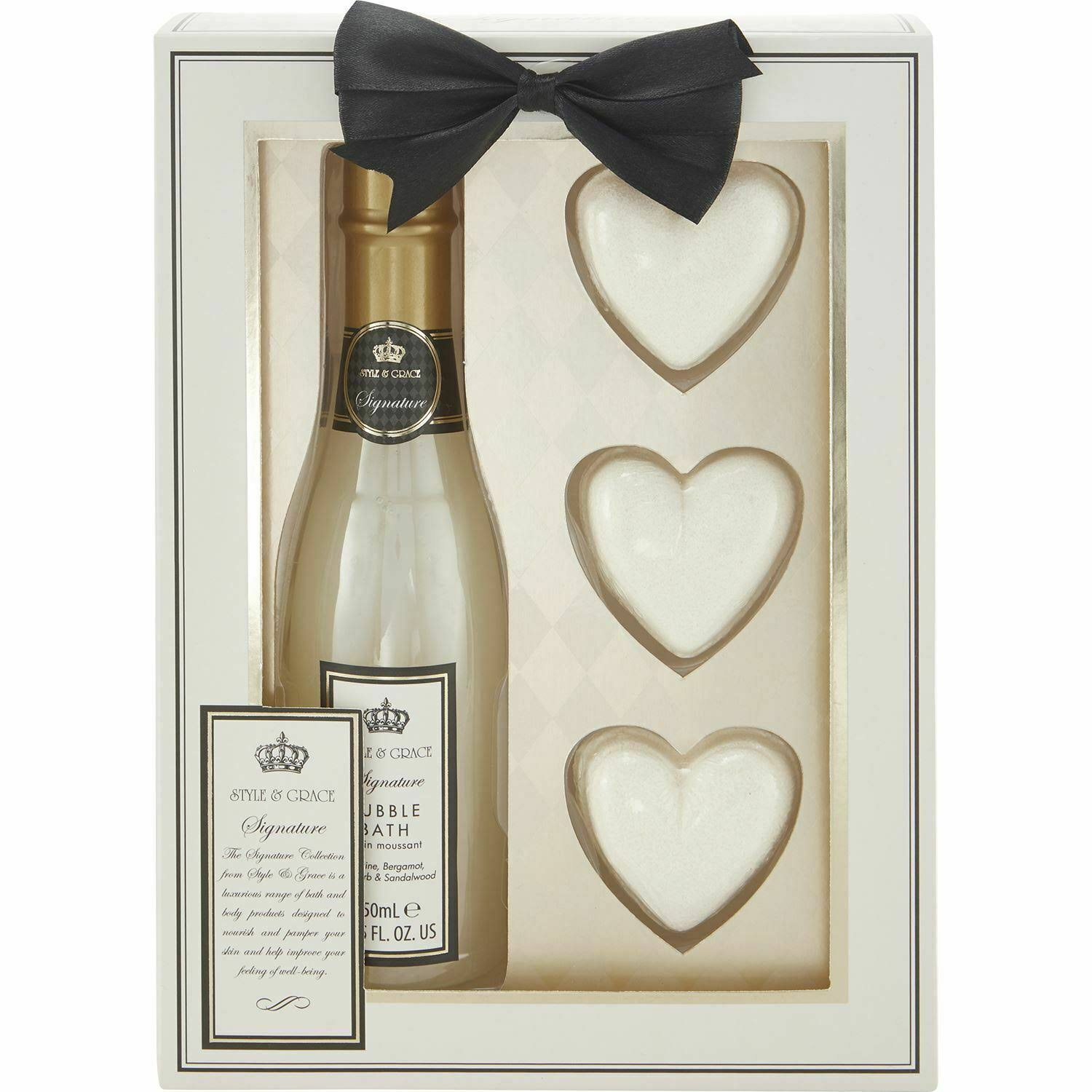 Style & Grace Signature Champagne Bath Gift Set
