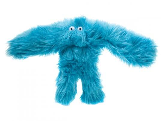 West Paw Design Salsa Orangutan Squeak Toy for Dogs - Turquoise