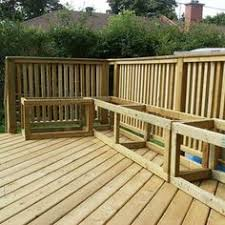 Build Outdoor Storage Bench by Deck Plan With Built In Benches For Seating And Storage Free