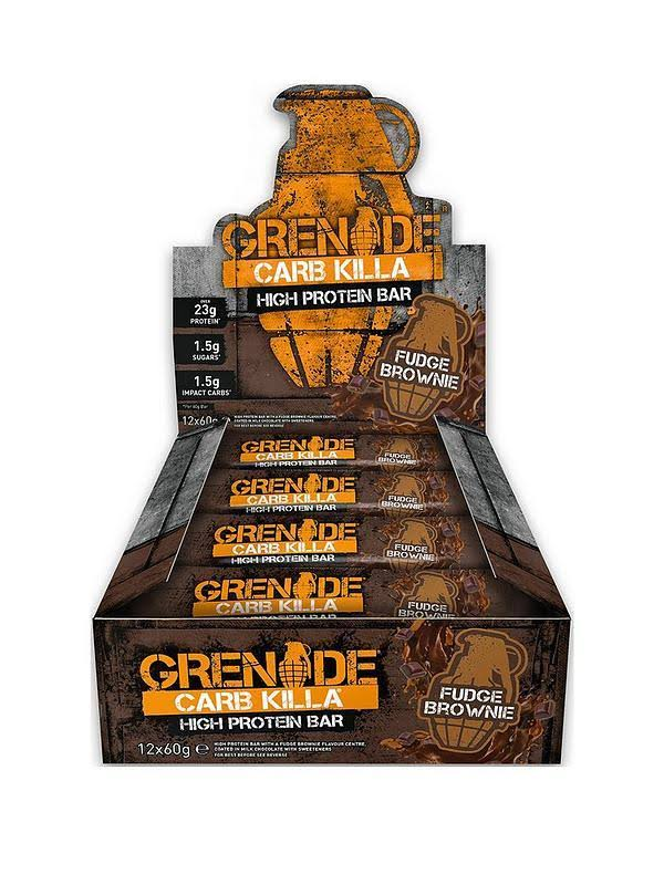 Grenade - Carb Killa, Fudge Brownie - 12 Bars